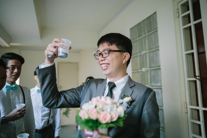 groom is up for anything