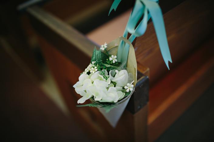 church flower deco