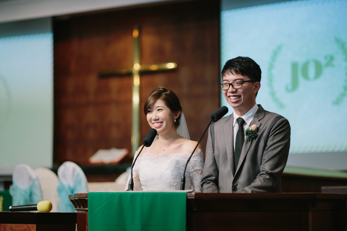 couple giving speech
