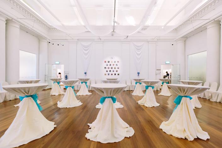 wedding reception at the arts house singapore