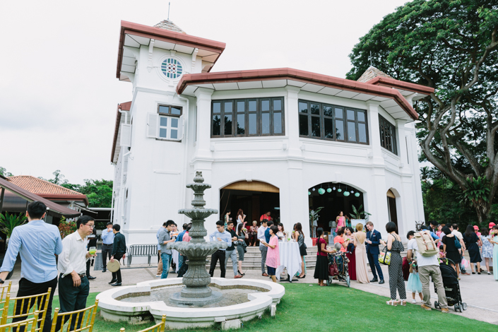wedding lunch reception at alkaff mansion ristorante singapore
