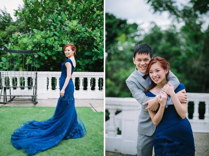 outdoor wedding at alkaff mansion singapore