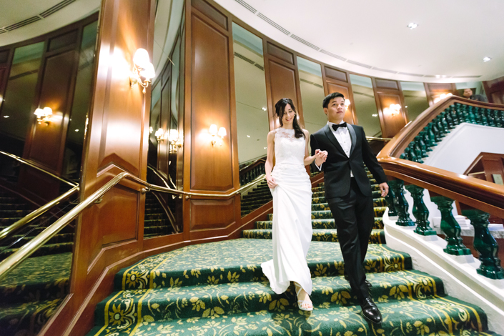 wedding at the tanglin club
