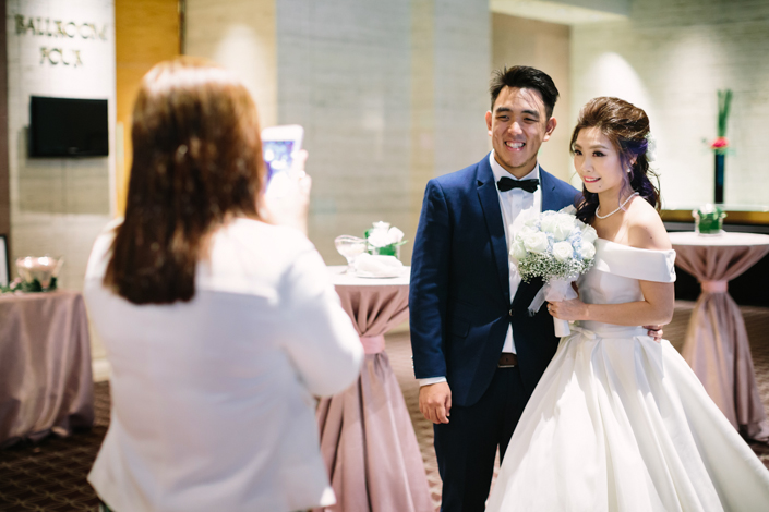 wedding at sheraton towers singapore
