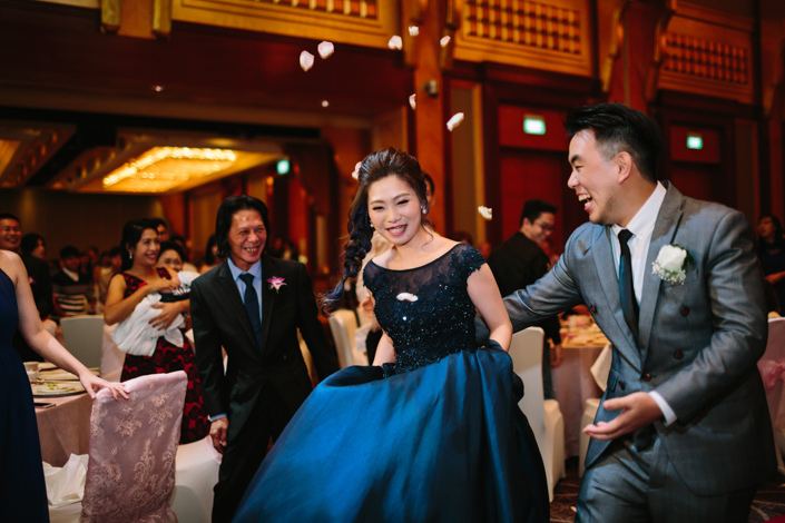 wedding at sheraton towers