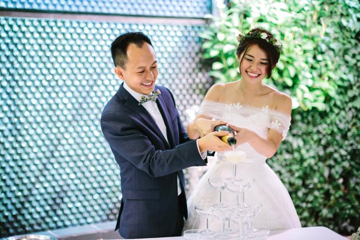 wedding at villa halia