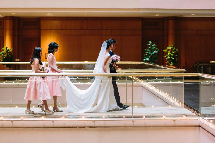 wedding at regent hotel