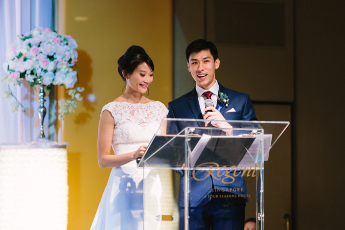 the regent hotel wedding banquet