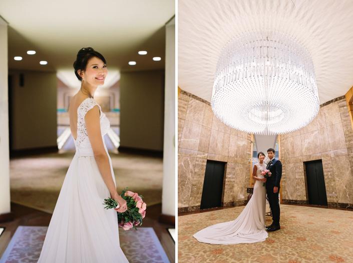 Wedding at the regent singapore