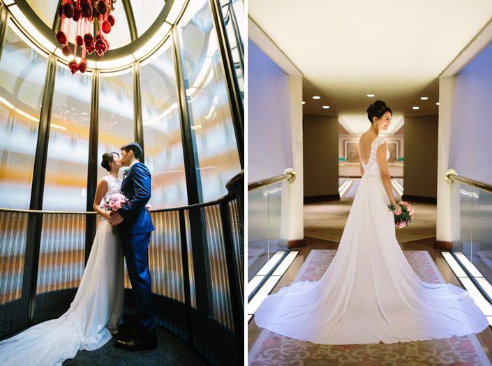 regent hotel wedding
