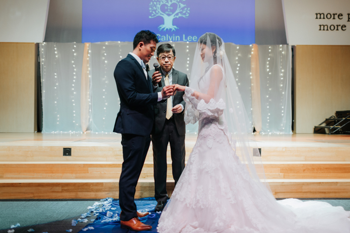 exchange of rings and vows
