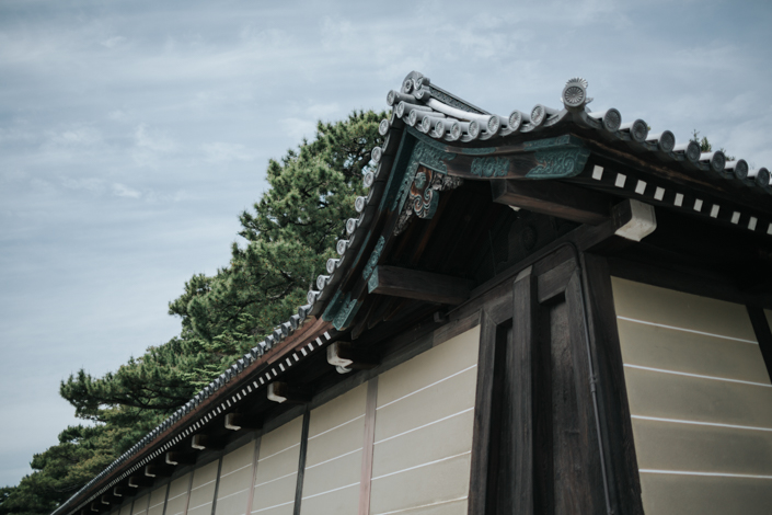 outside kyoto imperial palace