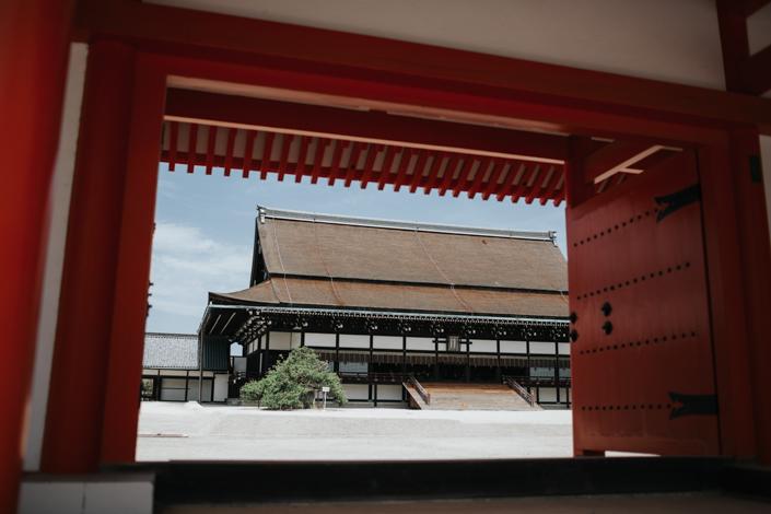 kyoto gyoen garden