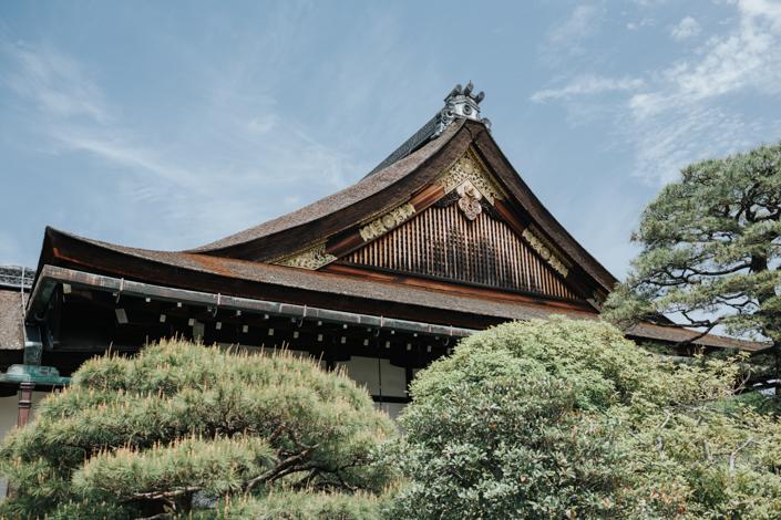 kyoto shishinden palace