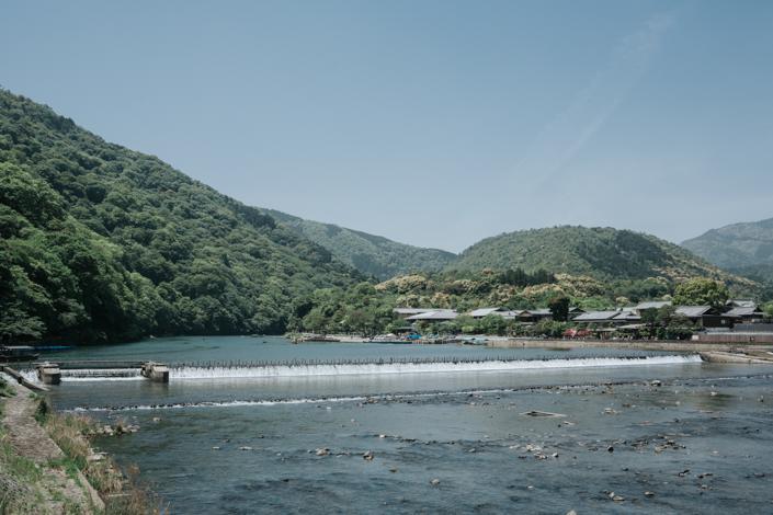 karatsu river dam