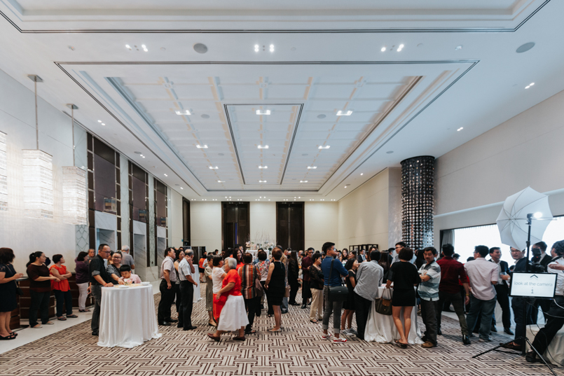 cocktail reception at the westin singapore